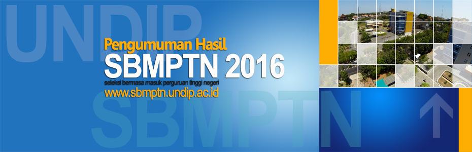 Pengumuman hasil SBMPTN 2016
