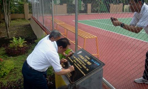 Lapangan Tenis Kampus Undip Tembalang Semarang