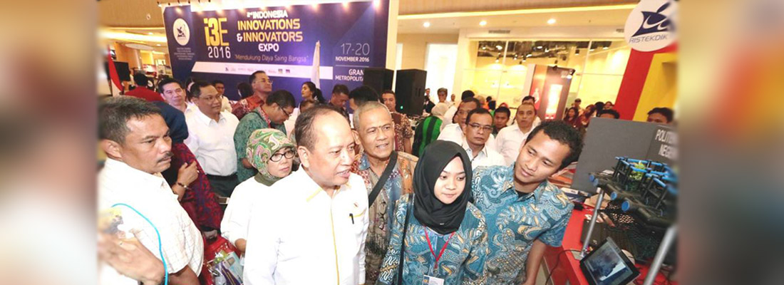 Center Of Marine Ecology UNDIP Ikuti Ekspo Inovasi