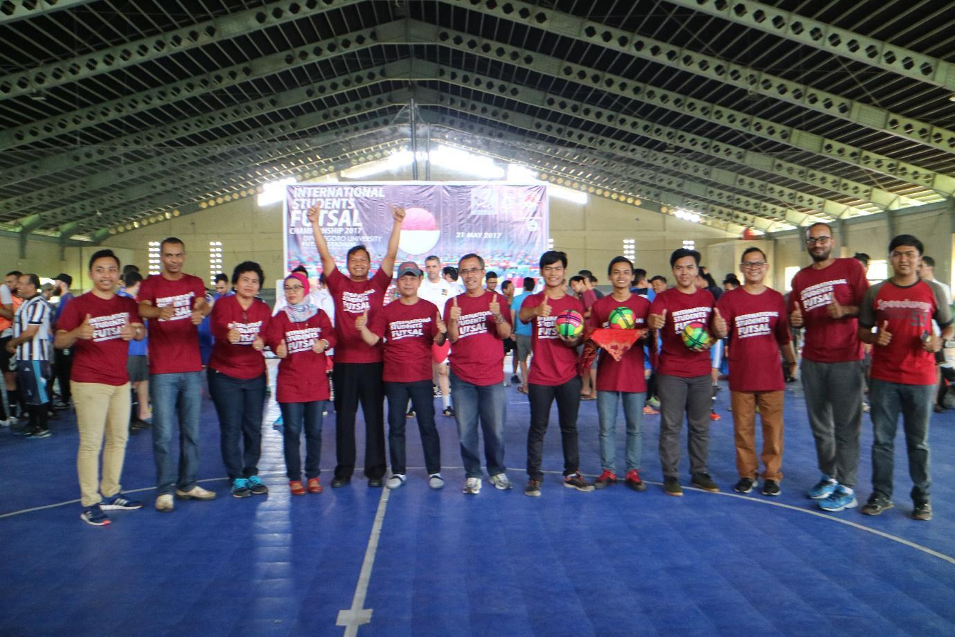 Undip adakan Lomba Futsal antar Mahasiswa Asing