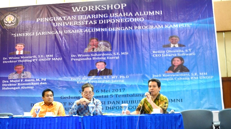 Workshop penguatan jejaring usaha alumni