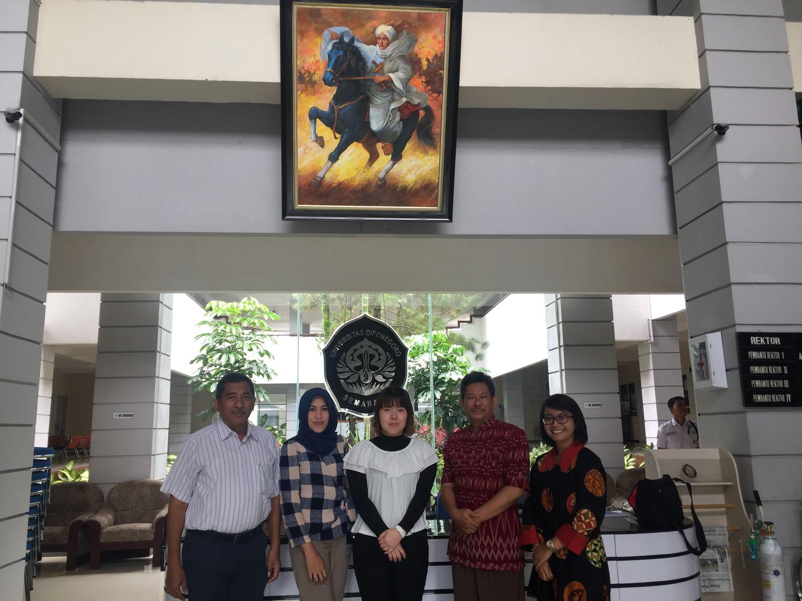Universitas Diponegoro Sambut Mahasiswa Tobitate Program Dari National Institute Of Technology Akashi College Japan Universitas Diponegoro