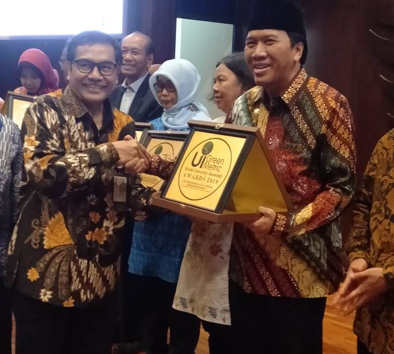 Undip Achieves 4th National Rank and 50th GreenMetric World Ranking