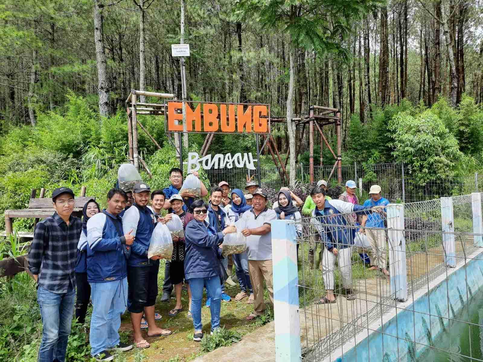 Kolaborasi Dosen dan Mahasiswa KKN Undip Kenalkan Edu Wisata Embung Bangau