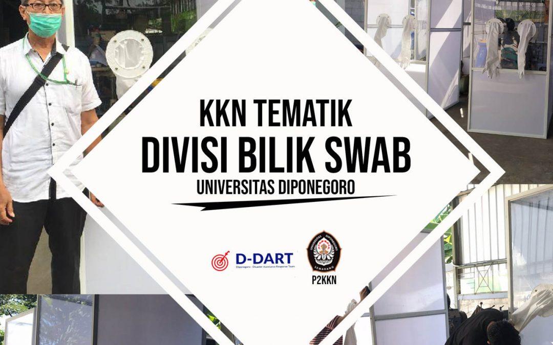 KKN Tematik Undip Bekerjasama dengan D-DART Melakukan Pengembangan Bilik Swab