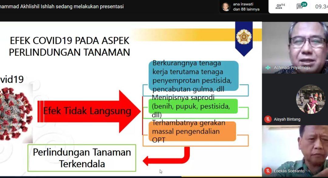Semarak Sewindu, Departemen Pertanian FPP Gelar Webinar