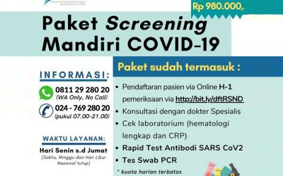 The Ease of Covid Screening 19 Raises Public Awareness for Screening