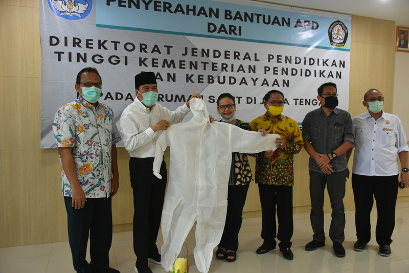 Undip Received APD Assistance from the Director General of Higher Education, Ministry of Education and Culture