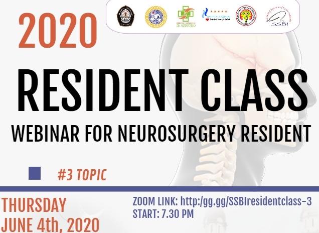Webinar untuk Kelas Residen Neurosurgery