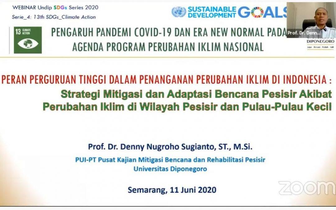 Pengaruh Pandemi Covid 19 Dan Era New Normal Pada Agenda Program Perubahan Iklim Nasional Universitas Diponegoro
