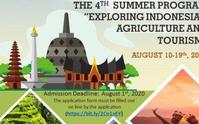 Tahun ke-4 Gelar Summer Course, FPP Undip Raih Atensi Luar Biasa