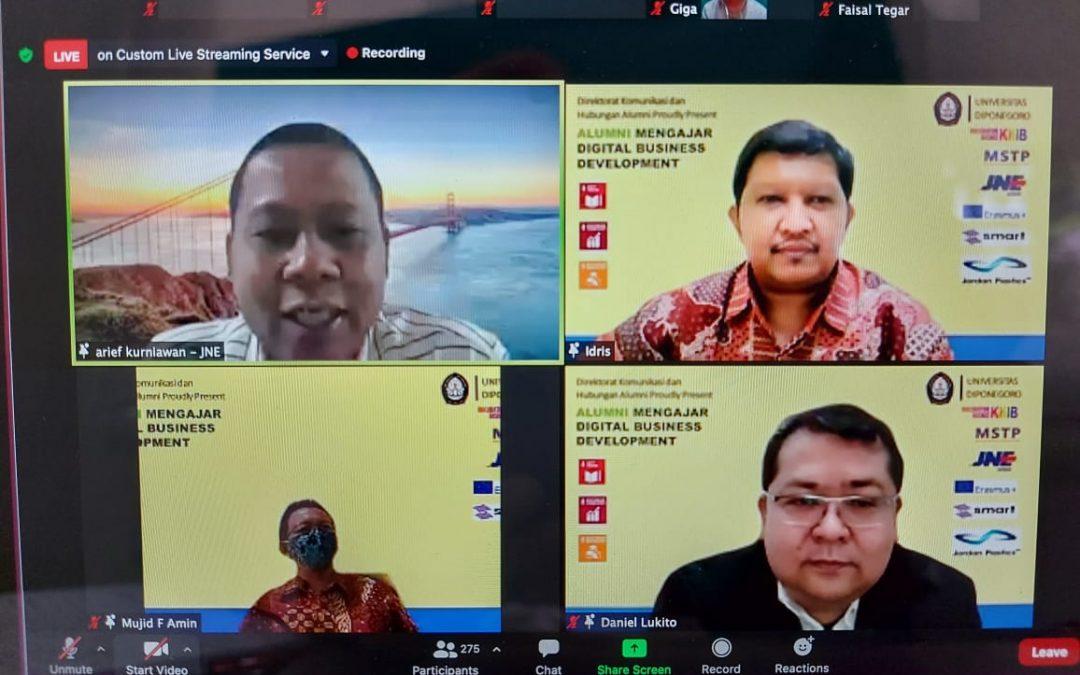 Peran Alumni Dalam Mengembangkan Digital Bisnis di Kalangan Civitas Akademika Universitas Diponegoro