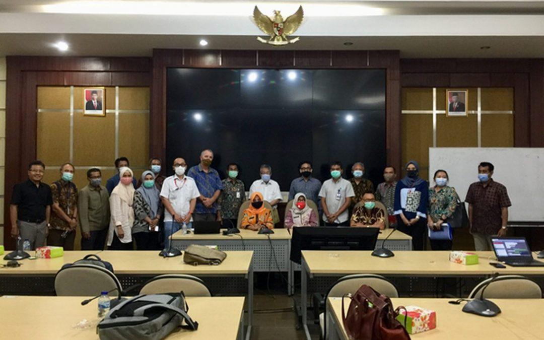 Center for ICZM Undip Menerima Kunjungan dari Dinas PUSDA Provinsi Jawa Timur