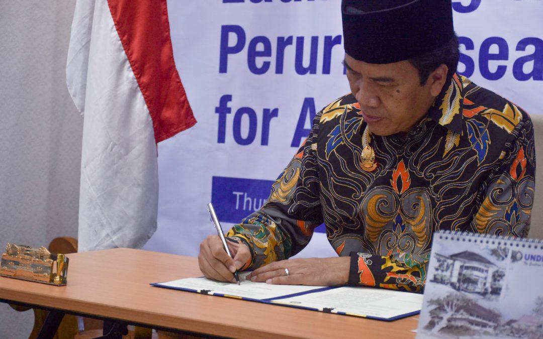 Undip Signed MoU Peruri Research Institute for Auntheticity