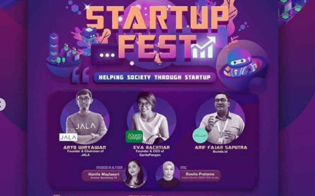 "Startup Fest 2020 ""Helping Society Through Startup"""