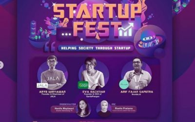 """Startup Fest 2020 """"Helping Society Through Startup"""""""