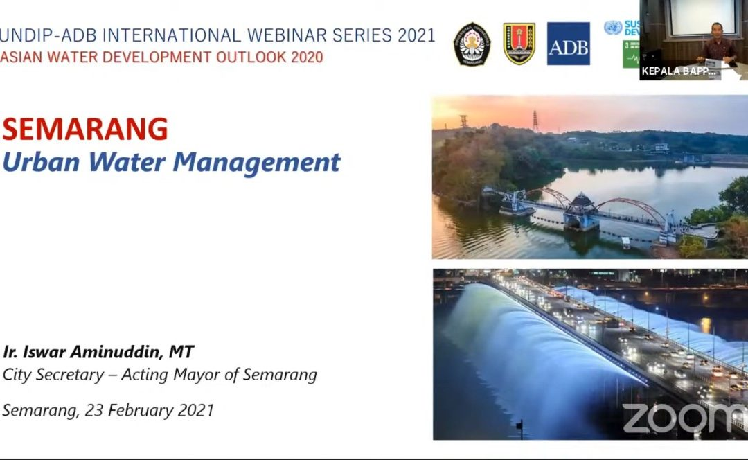 The Role of UNDIP in Handling Water Problems in Semarang City