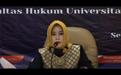 Prof. Retno Saraswati: Srikandi Pertama di Posisi Dekan Fakultas Hukum UNDIP