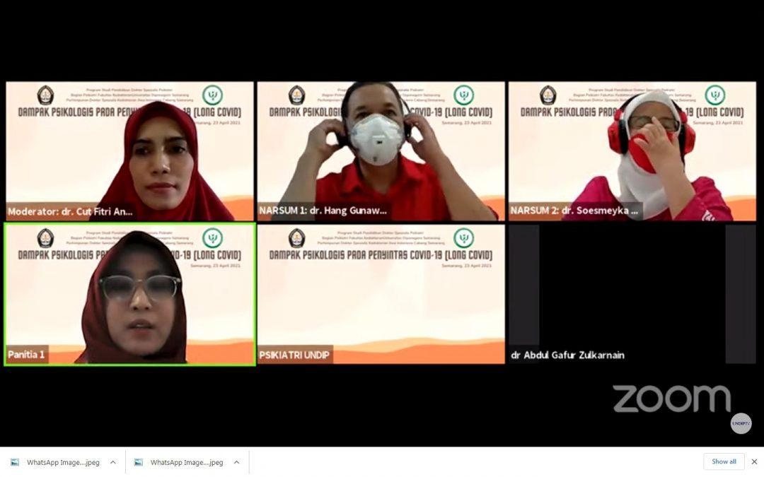 FK UNDIP Gelar Seminar Bersama Perhimpunan Dokter Spesialis Jiwa Indonesia