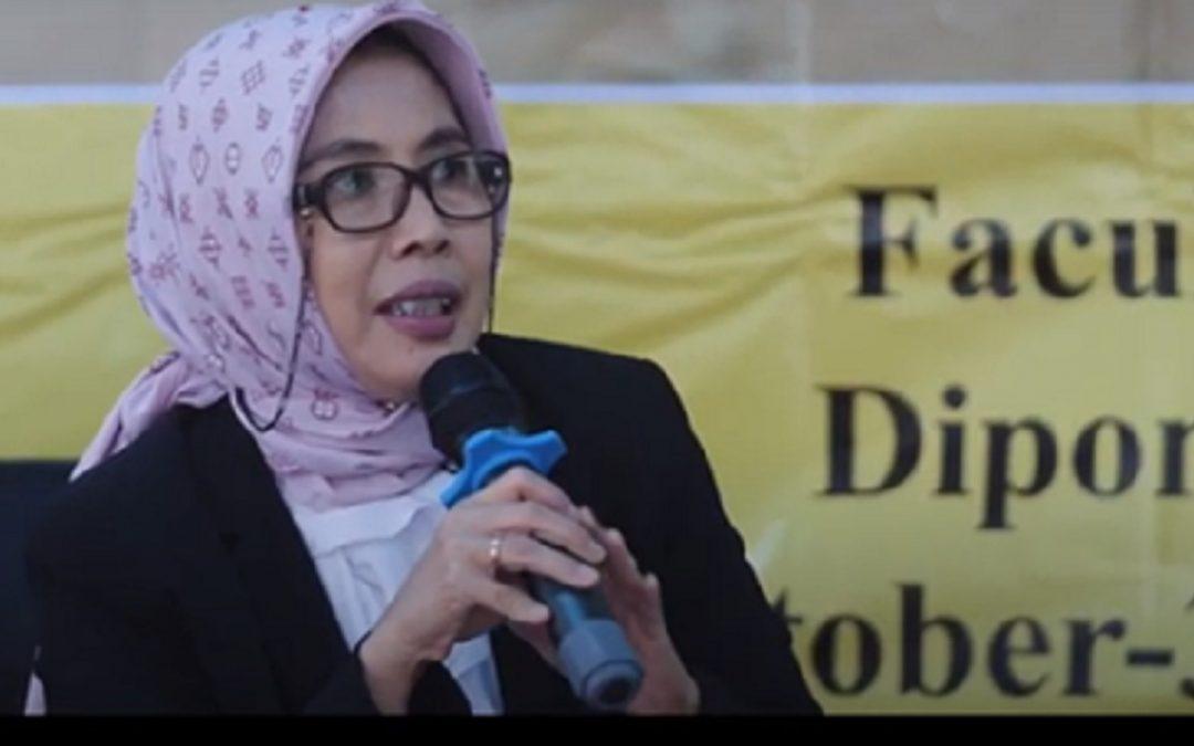 Dr Nurhayati: Semua Punya Peran Membesarkan FIB UNDIP