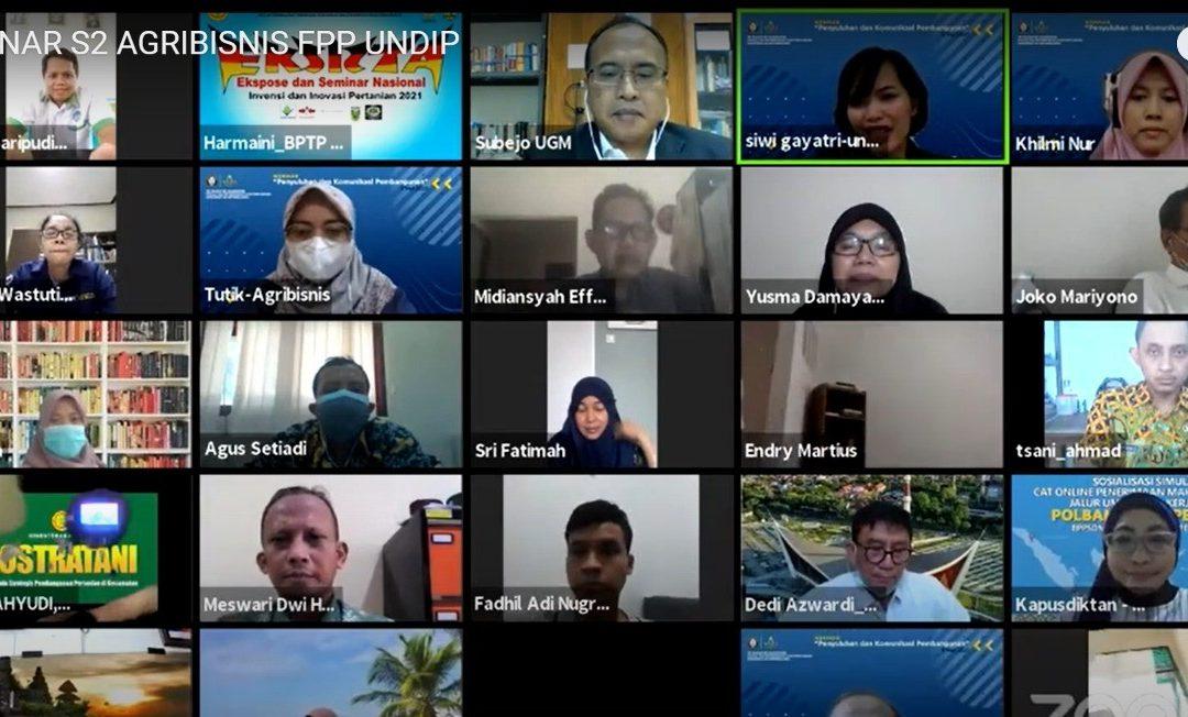 Dekan FPP Undip: Peran Strategis Penyuluh Pertanian dalam Komunikasi Pembangunan