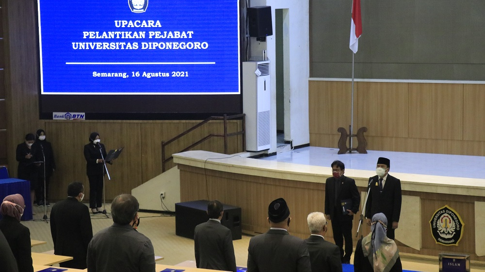 Undip Rector: Prioritize Integrity and Maintain Trust