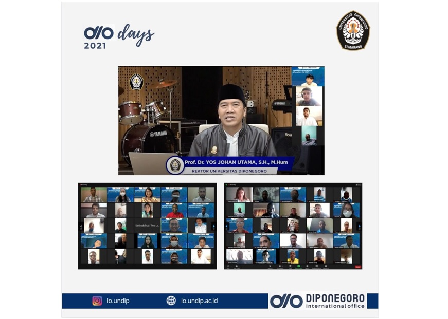 DIO Day 2021: New Student Admission for International Students at Diponegoro University