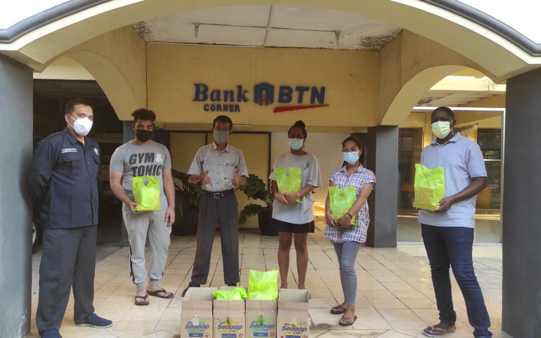 Peduli Mahasiswa Internasional di Masa Pandemi Oleh Diponegoro Disaster Assistance Response Team (D-DART) Undip