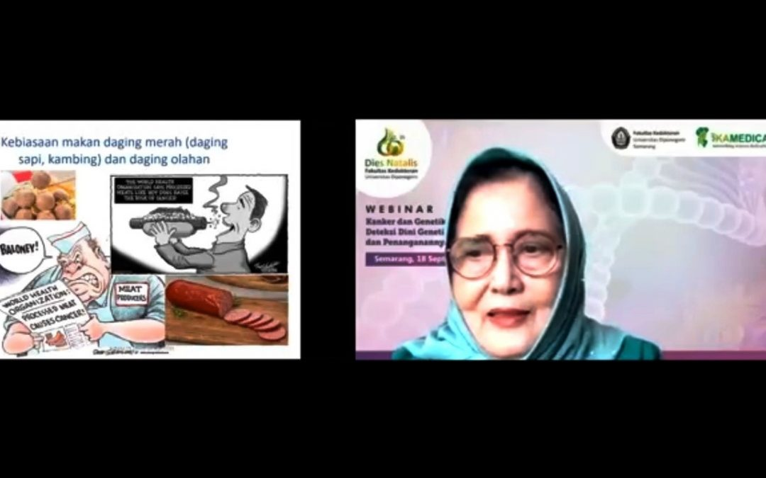 Guru Besar FK UNDIP Prof DR Sultana Perubahan Gaya Hidup Salah Satu Sebab Kanker Usus