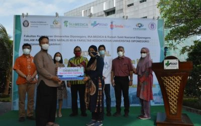 IKA Medika and Diponegoro National Hospital Held Social Service to Commemorate the 60th Anniversary of Faculty of Medicine UNDIP