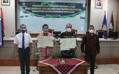 DLHK Bengkulu Province Collaborated with UNDIP to Overcome Problems in the City Coastal Area