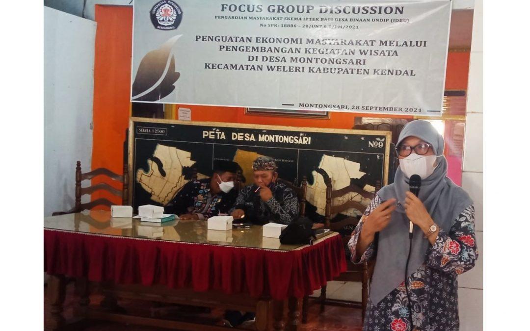 LPPM UNDIP Dukung Pengembangan Wisata Desa Montongsari Kendal