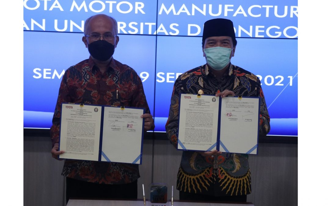 Undip and Toyota Made Agreement on Link and Match for Higher Education and Industry