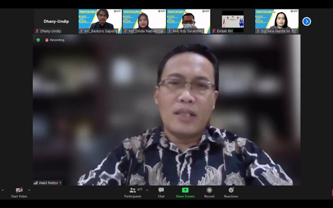 Wakil Rektor I Undip: Penting Untuk Membekali Calon Wisudawan Dengan Soft Skill dan Hard Skill Menghadapi Era Disrupsi 4.0