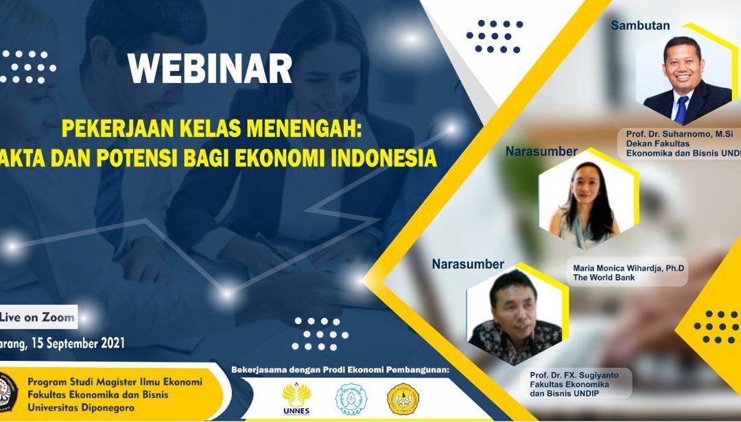 Indonesia Negara Berpenghasilan Menengah ke Bawah, Undip dan Tiga Universitas Negeri di Jateng Rekomendasikan Lima Kebijakan Strategis