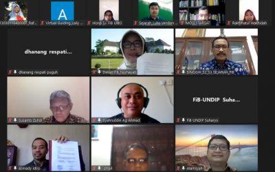 Departemen Sejarah  FIB UNDIP  Gelar Webinar Exploring Indonesian Maritime History: Substance and Methodology