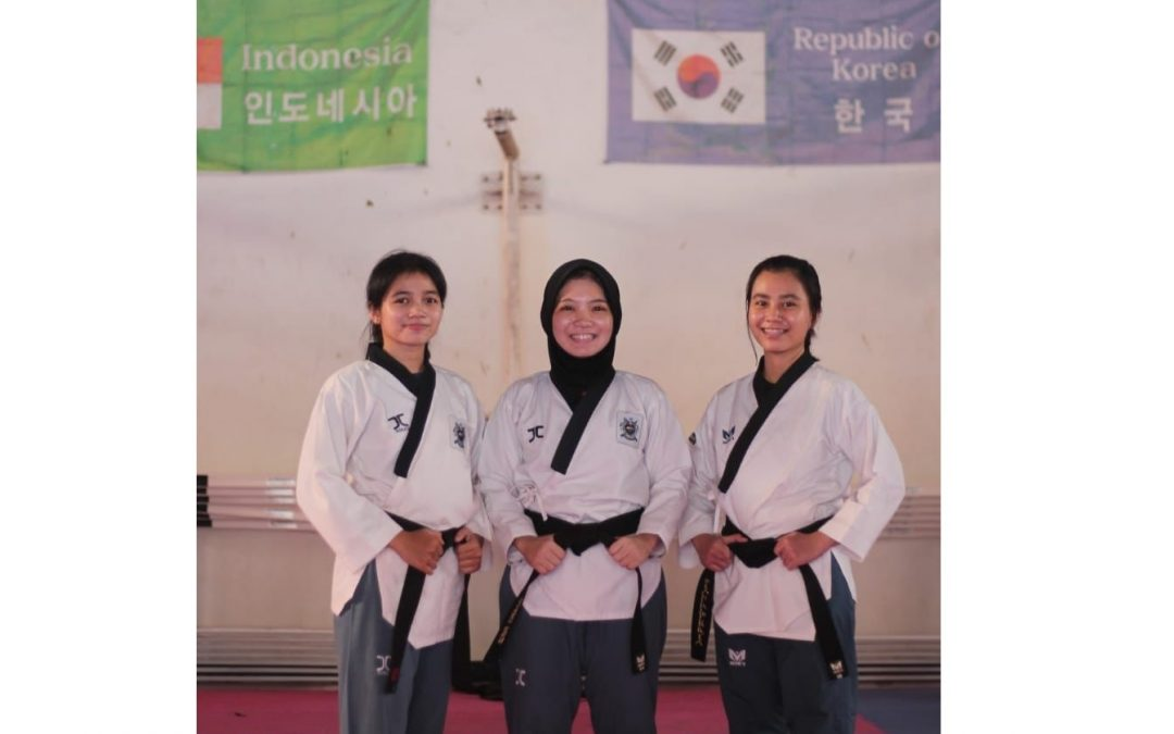 Undip Tae Kwon Do Team Successfully Won 4 Gold, 1 Silver, and 2 Bronze Medals at UGM Tae Kwon Do Championship 2021