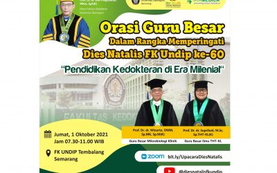 Medical Science Study Program of Faculty of Medicine UNDIP is Ready to Respond to the Challenges of the Millennial Era